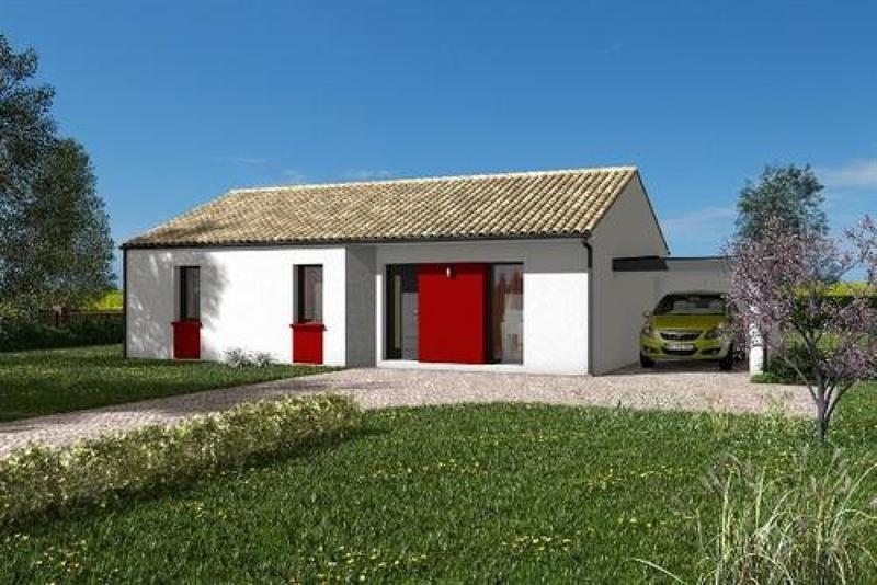 Maison  4 pièces + Terrain 571 m² Chapelle-Viviers par maisons PRIMEA