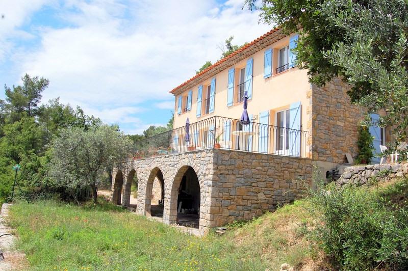 Deluxe sale house / villa Seillans 546000€ - Picture 3