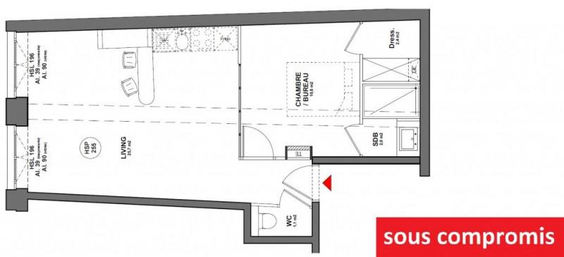 Vente appartement Lyon 1er 185000€ - Photo 1