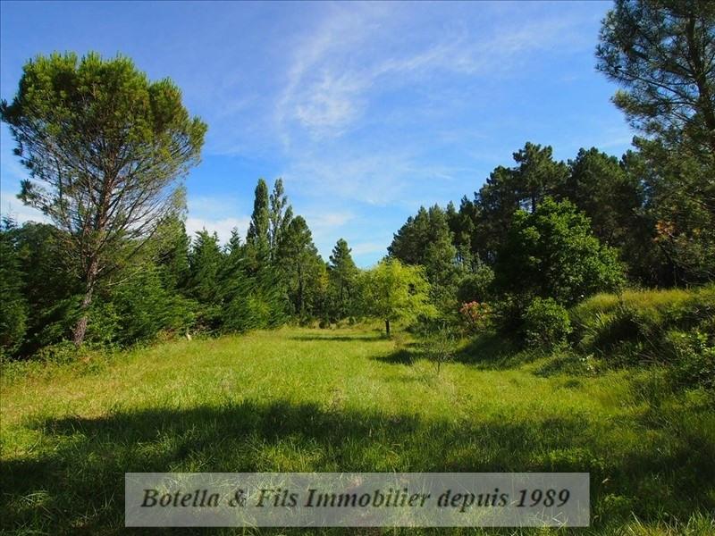Verkoop  stukken grond Barjac 57000€ - Foto 1