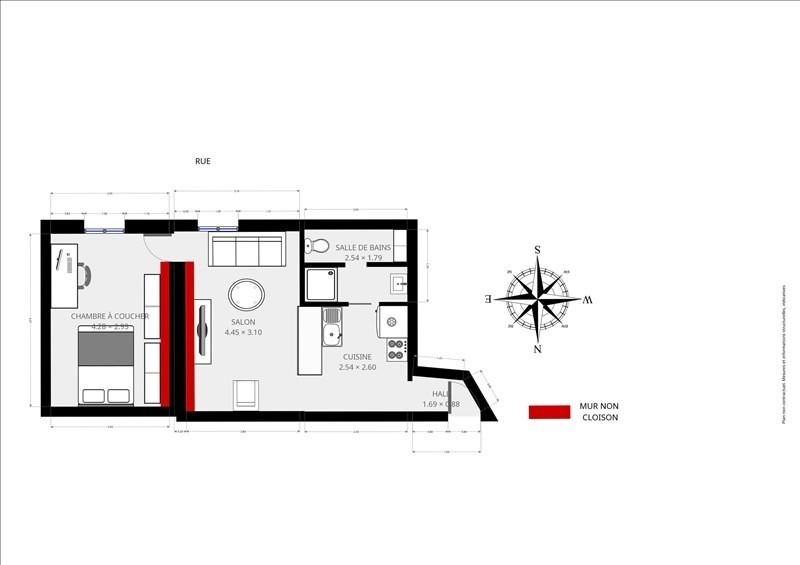 出售 公寓 Paris 19ème 303000€ - 照片 10