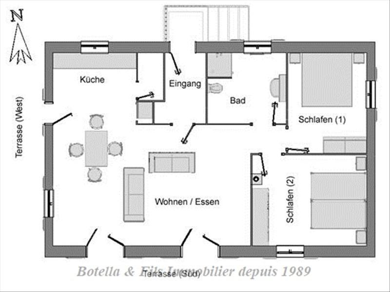Vente maison / villa Barjac 270000€ - Photo 11