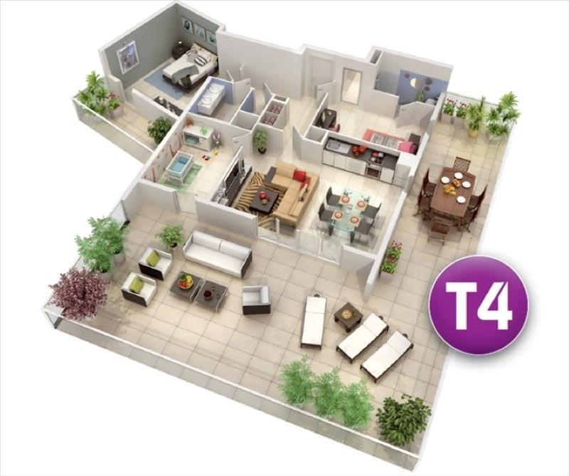 Vente appartement Castelnau le lez 342000€ - Photo 4