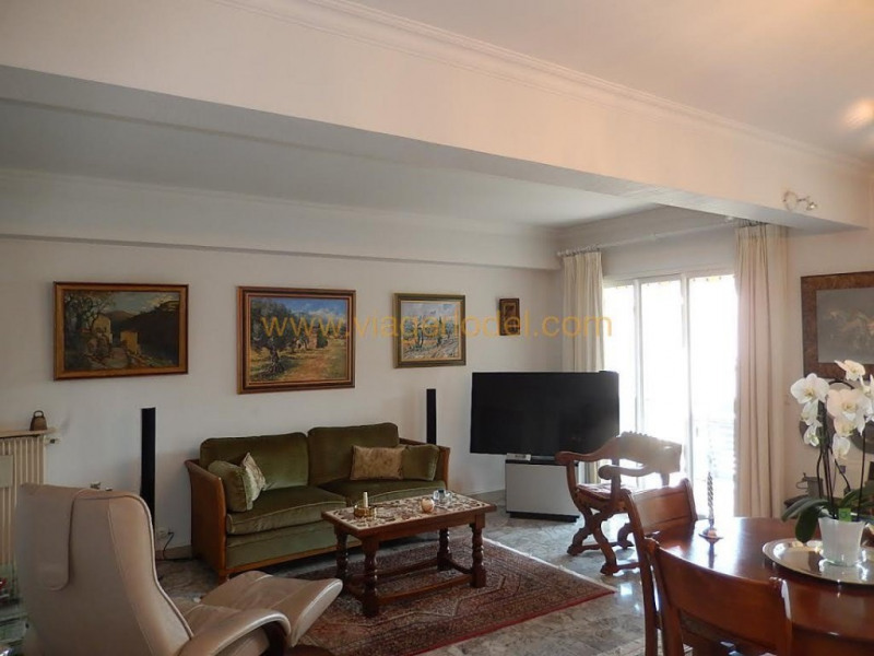 Viager appartement Menton 120 000€ - Photo 1