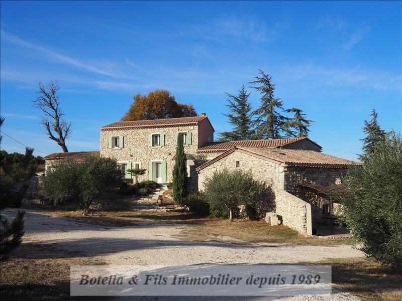 Deluxe sale house / villa St just d ardeche 780 000€ - Picture 1