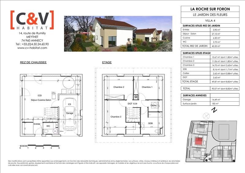 Vente maison / villa La roche sur foron 339900€ - Photo 4