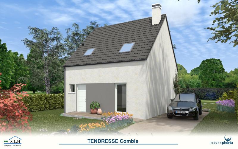 """Modèle de maison  """"Modèle de maison 4 pièces"""" à partir de 4 pièces Indre par MAISONS PHENIX"""
