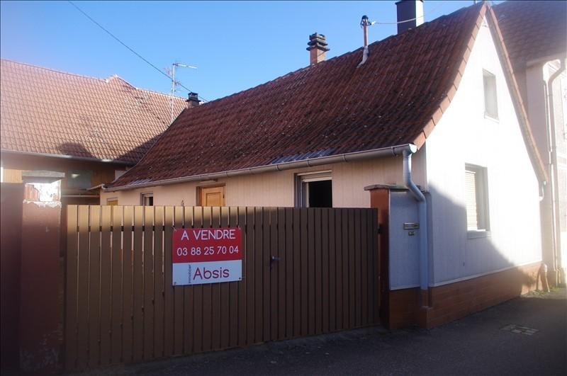 Vendita casa Eckwersheim 139100€ - Fotografia 1