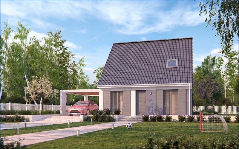 Maison  5 pièces + Terrain 1125 m² Bécon-les-Granits par MAISONS PIERRE