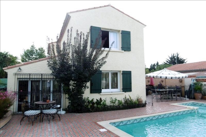 Sale house / villa Saint-brès 451000€ - Picture 1