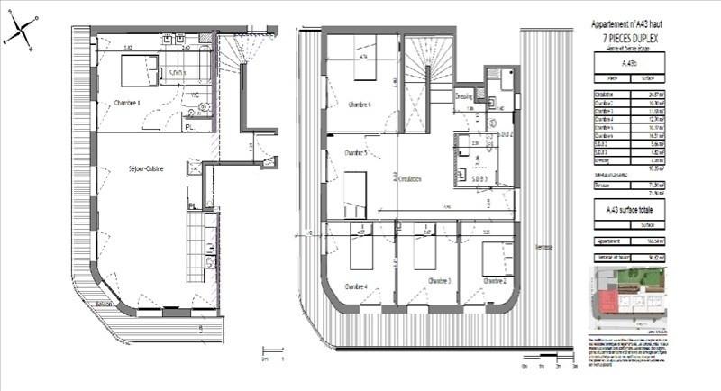 Deluxe sale apartment Puteaux 1260000€ - Picture 1