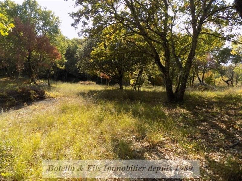 Vendita terreno Barjac 94500€ - Fotografia 1