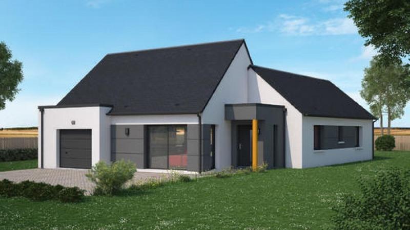 Maison  4 pièces + Terrain 800 m² Saint-Martin-le-Beau par maisons Ericlor