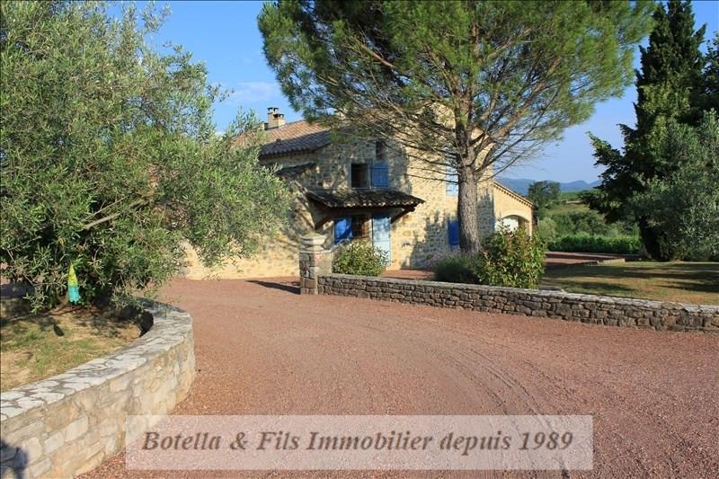 Vente de prestige maison / villa Barjac 765000€ - Photo 3