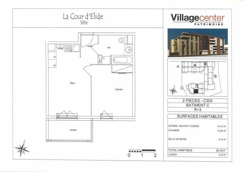 Location appartement Sete 532€ CC - Photo 3