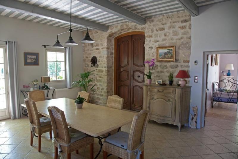 Revenda residencial de prestígio casa Rochefort du gard 625000€ - Fotografia 15