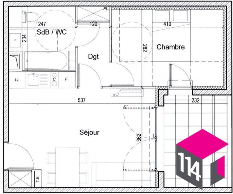 Sale apartment Saint bres 145000€ - Picture 4