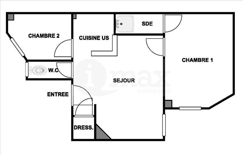 Sale apartment Levallois 360000€ - Picture 4
