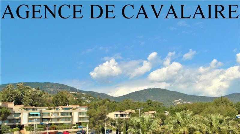 Investment property apartment Cavalaire sur mer 110 000€ - Picture 1