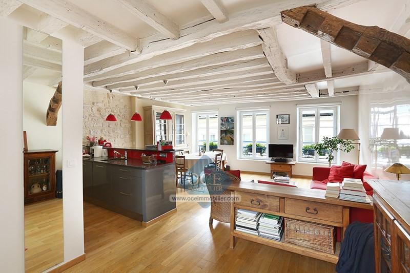 Deluxe sale apartment Paris 3ème 1090000€ - Picture 1