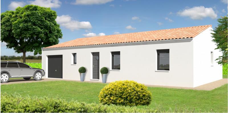 """Modèle de maison  """"Modèle de maison 4 pièces"""" à partir de 4 pièces Charente par TRADI HOME CHABANAIS"""
