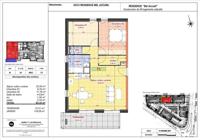Vente appartement Bourgoin jallieu 167800€ - Photo 4