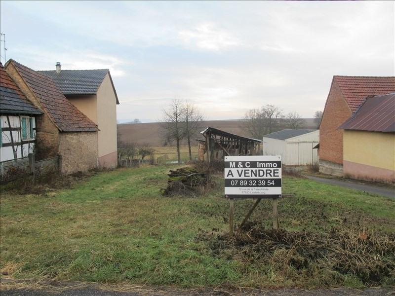 Verkauf grundstück Wissembourg 49000€ - Fotografie 1