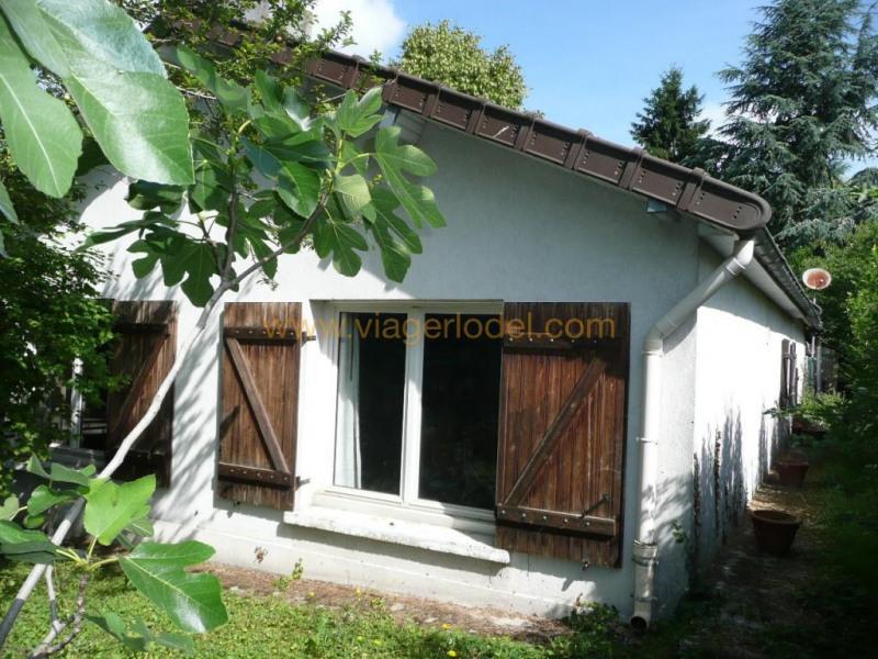 Verkauf auf rentenbasis haus Varennes jarcy 40000€ - Fotografie 1