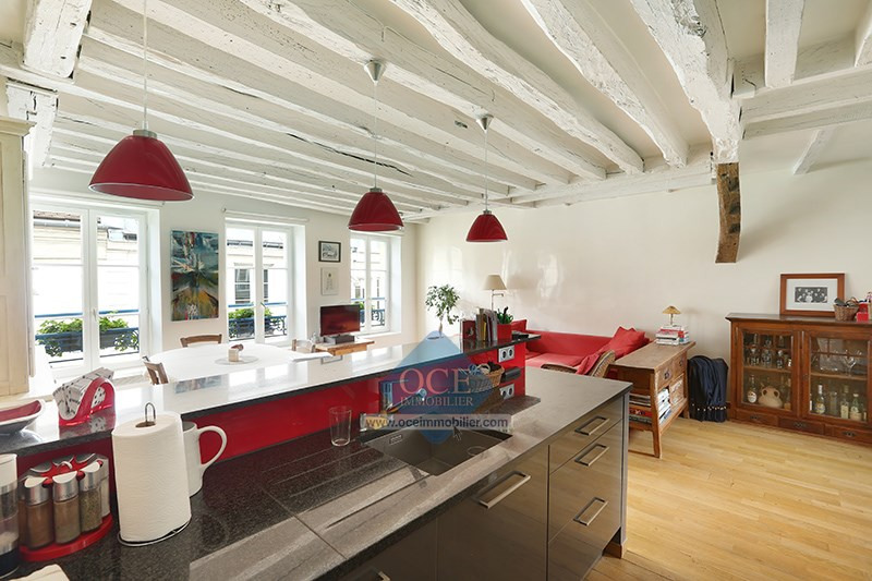Deluxe sale apartment Paris 3ème 1090000€ - Picture 12