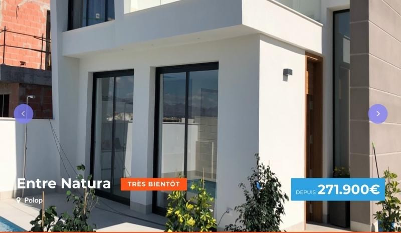 Venta  casa Province d'alicante 271900€ - Fotografía 1