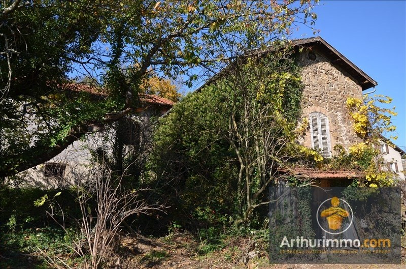 Vente maison / villa Satillieu 57 000€ - Photo 1