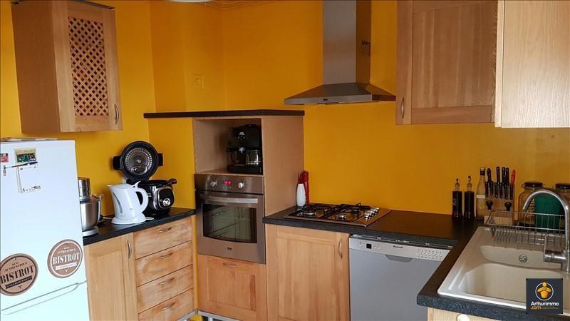 Rental apartment Les avenieres 550€ CC - Picture 1