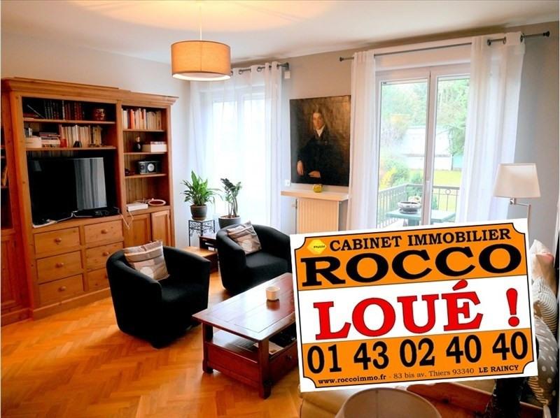 Location appartement Le raincy 1290€ CC - Photo 1