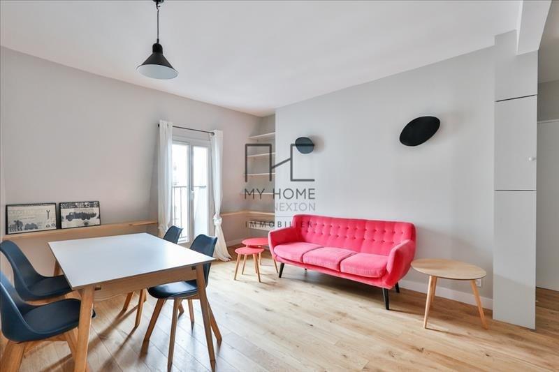 Venta  apartamento Paris 18ème 437800€ - Fotografía 2