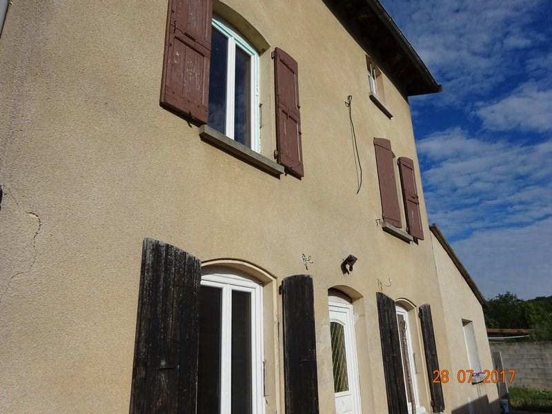 Sale house / villa Ponsas 125000€ - Picture 1