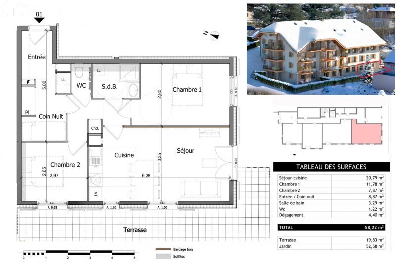 Vente appartement Saint gervais les bains 239000€ - Photo 14