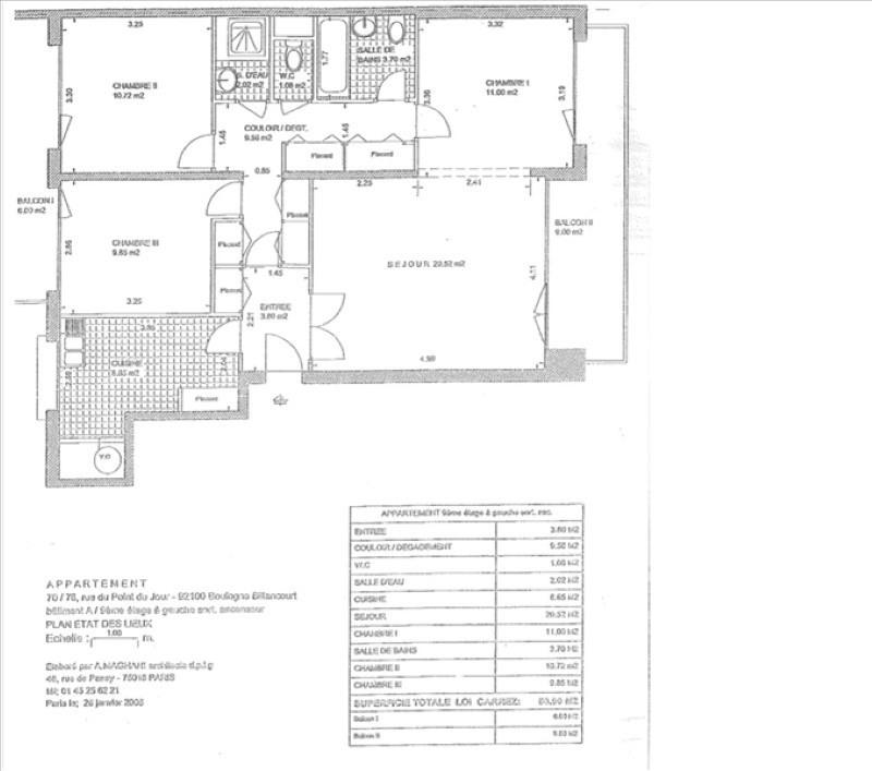 Sale apartment Boulogne billancourt 762000€ - Picture 17