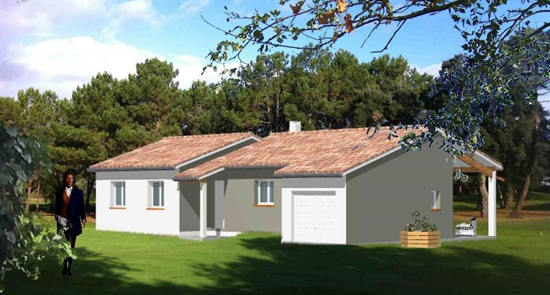 Maison  4 pièces + Terrain 630 m² Saint Geours de Maremne (40230) par LB CREATION