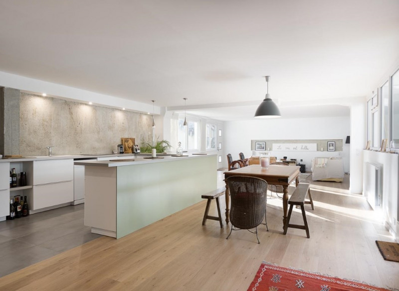 Deluxe sale loft/workshop/open plan Suresnes 925000€ - Picture 4