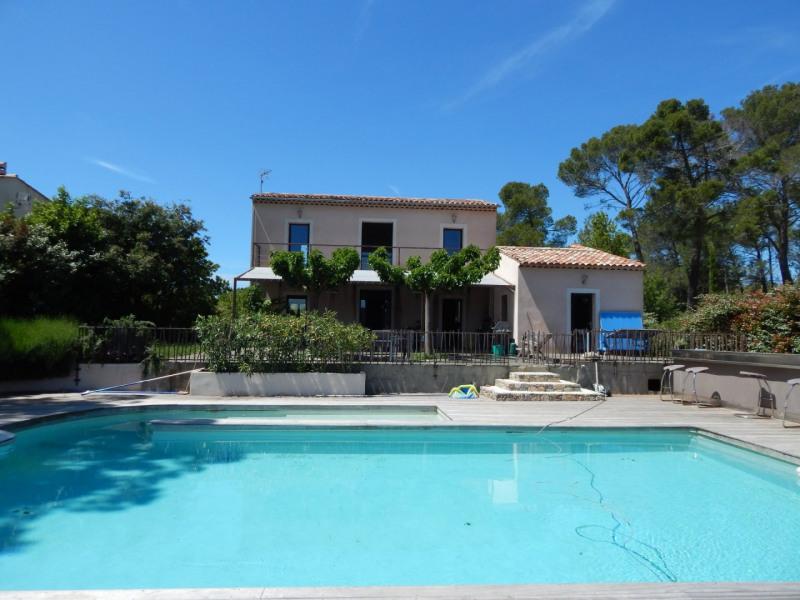 Sale house / villa Sillans-la-cascade 499000€ - Picture 1
