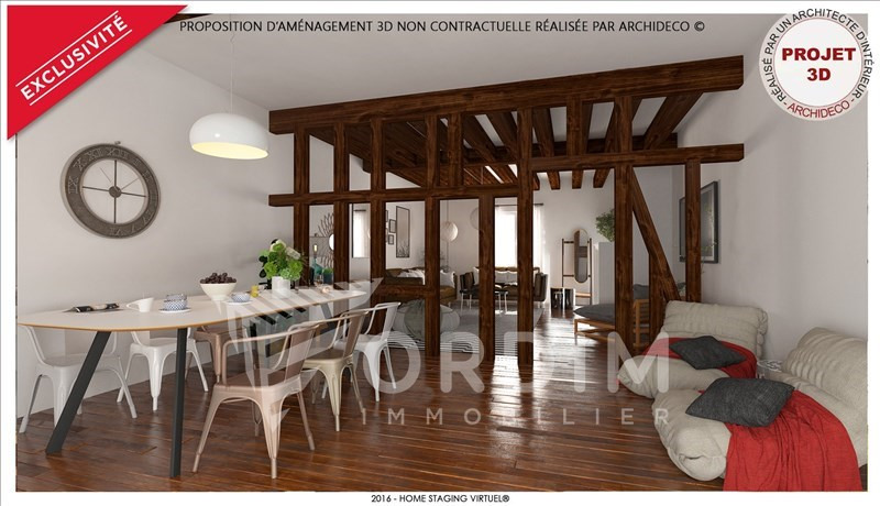 Investment property house / villa Auxerre 94000€ - Picture 1