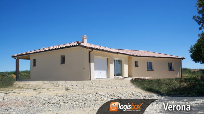 """Modèle de maison  """"Maison 4 Chambres + garage et terrasses"""" à partir de 5 pièces Lot-et-Garonne par LOGISBOX"""