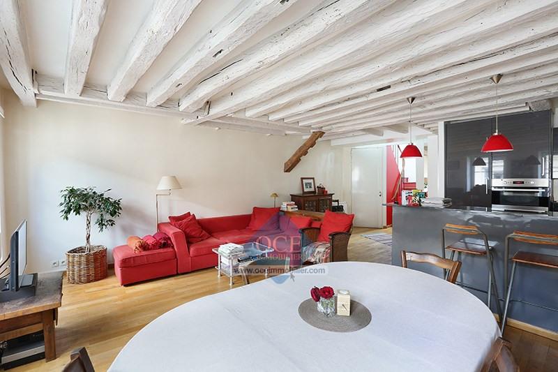 Deluxe sale apartment Paris 3ème 1090000€ - Picture 3