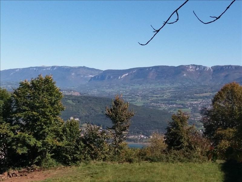 Venta  terreno Le bourget du lac 88000€ - Fotografía 3