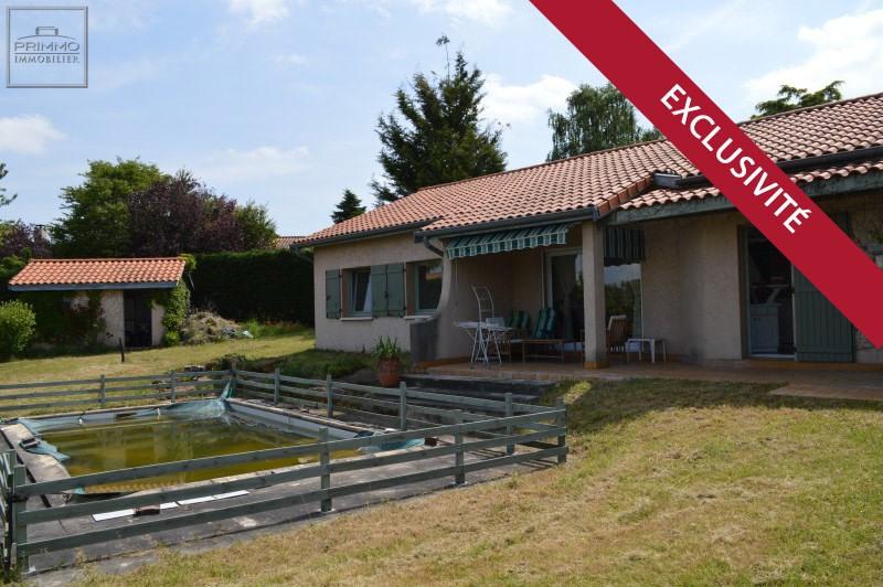 Vente maison / villa Lissieu 432000€ - Photo 1