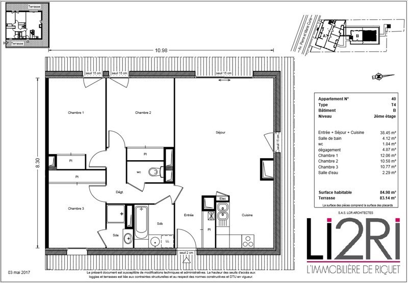 Vente appartement Toulouse 359900€ - Photo 4
