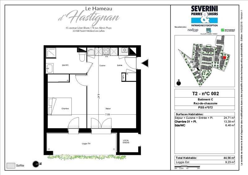 Vente appartement St medard en jalles 202300€ - Photo 2