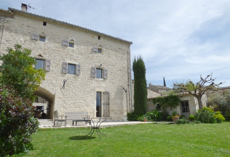 Immobile residenziali di prestigio casa Barjac 495000€ - Fotografia 3