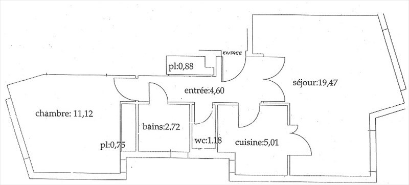 Vente appartement Orsay 208000€ - Photo 2