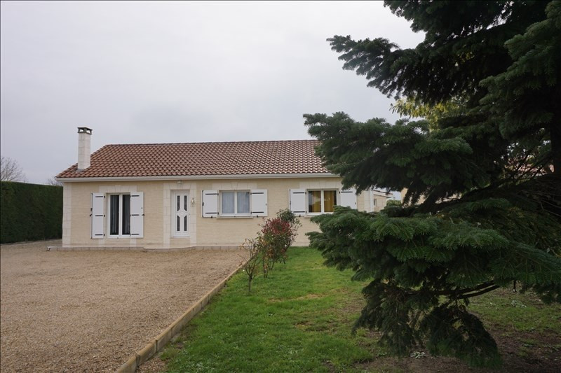 Vente maison / villa La lande de fronsac 253000€ - Photo 1